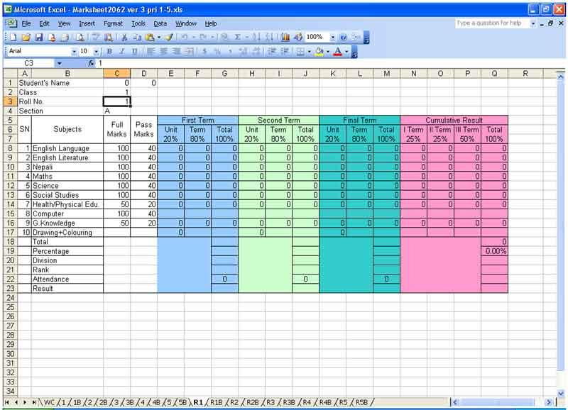 Download Excel Solutions | Kritee